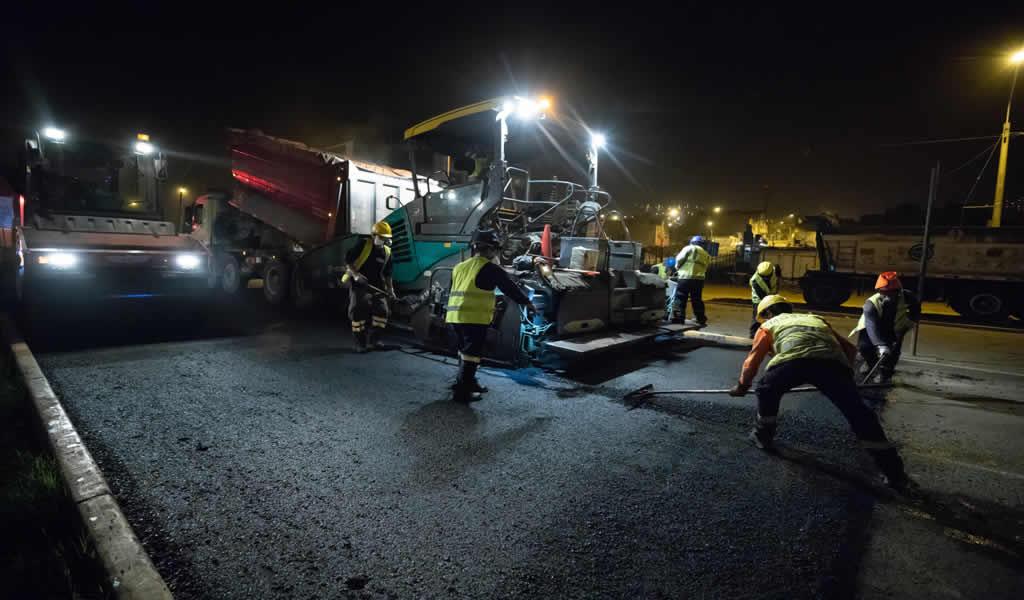 Carabayllo: MML ejecuta reparación de pistas en la Av. Manuel Prado