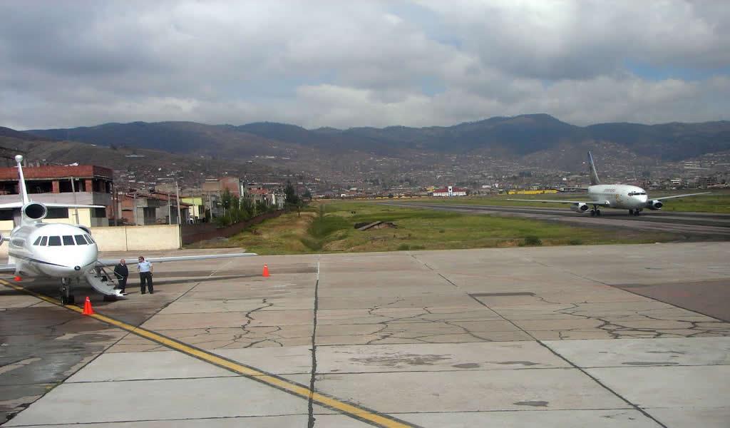 Concluyen construcción del cerco y vía perimetral del aeropuerto del Cusco