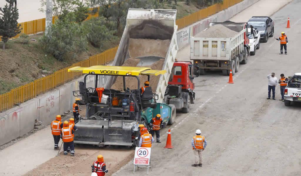Continúa trabajos en la carretera Canchaque-Huancabamba en Piura