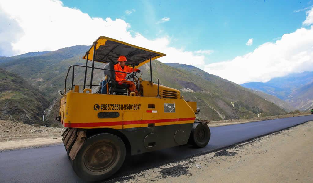 Ejecutan obras de mejoramiento del corredor Molinopampa-Huari en Áncash