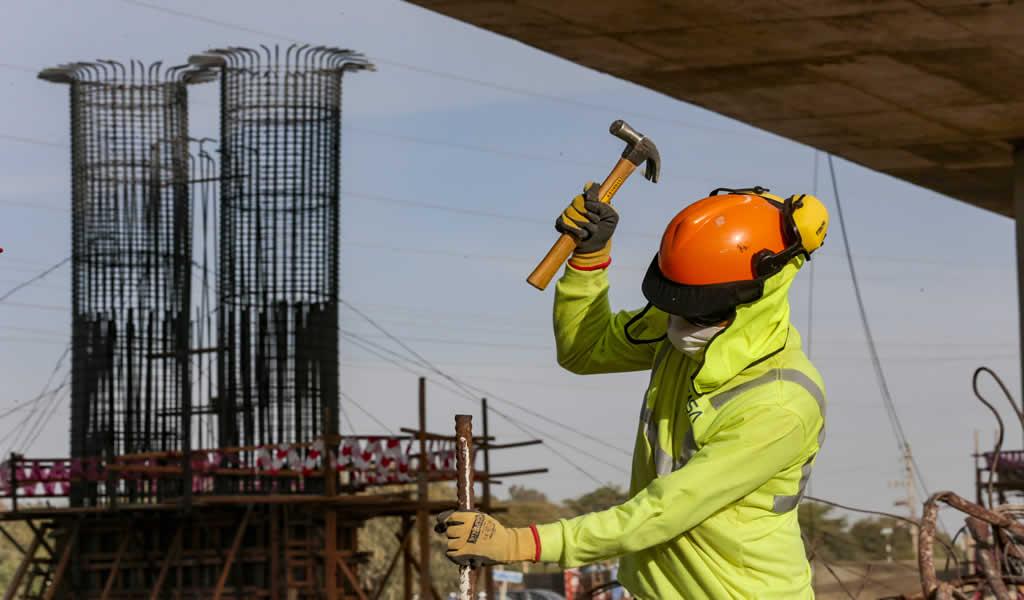 BCR: sector construcción creció 20.2% en julio de 2021