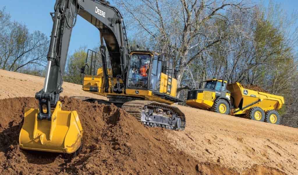 John Deere amplía la gama de excavadoras equipadas con SmartGrade