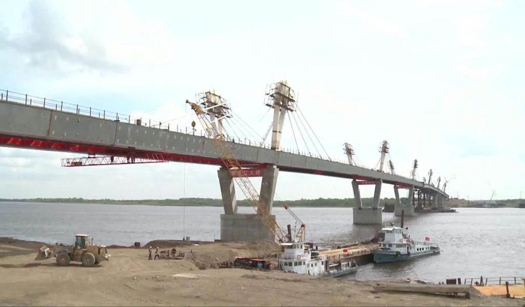 El primer puente de la autopista China-Rusia está listo para entrar en operación