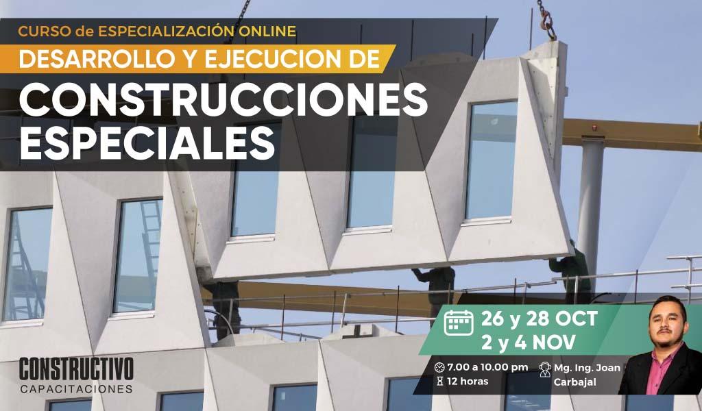 Desarrollo y Ejecución de Construcciones Especiales