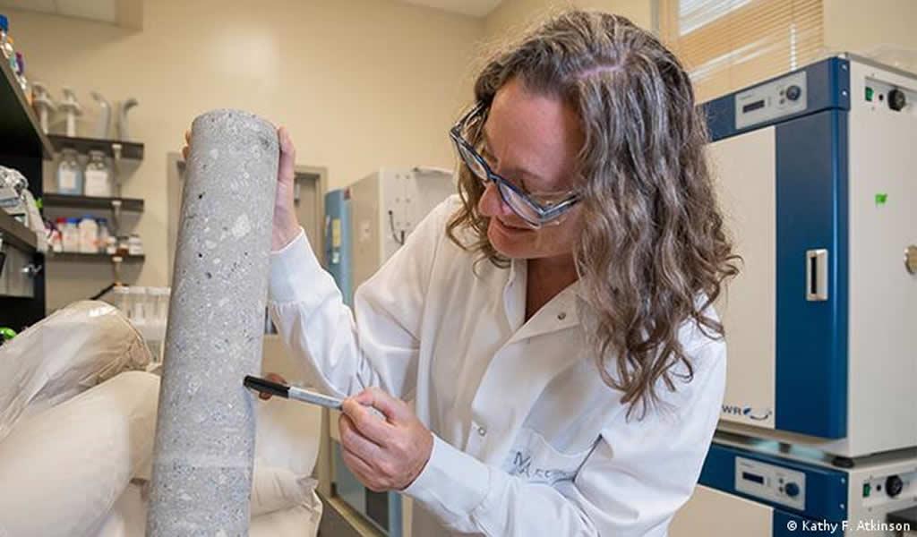 Esta es la pasta de cemento impresa en 3D, un ingrediente clave del concreto y mortero utilizado para construir