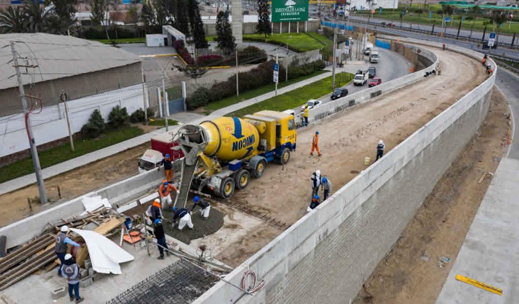 Municipalidad de Lima: nuevo paso a desnivel en la antigua Panamericana Sur cuenta con 75% de avance