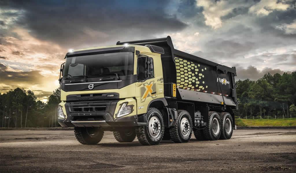 El nuevo Volvo FMX MAX llega con más capacidad de carga